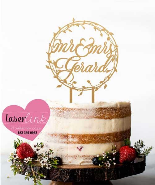 Cake Topper 173