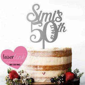 Cake Topper 185