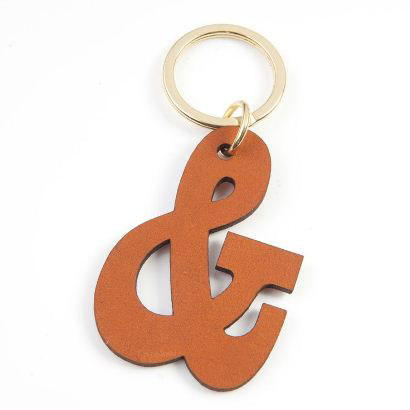 Laser Cut and Engrave Leather Key Rings