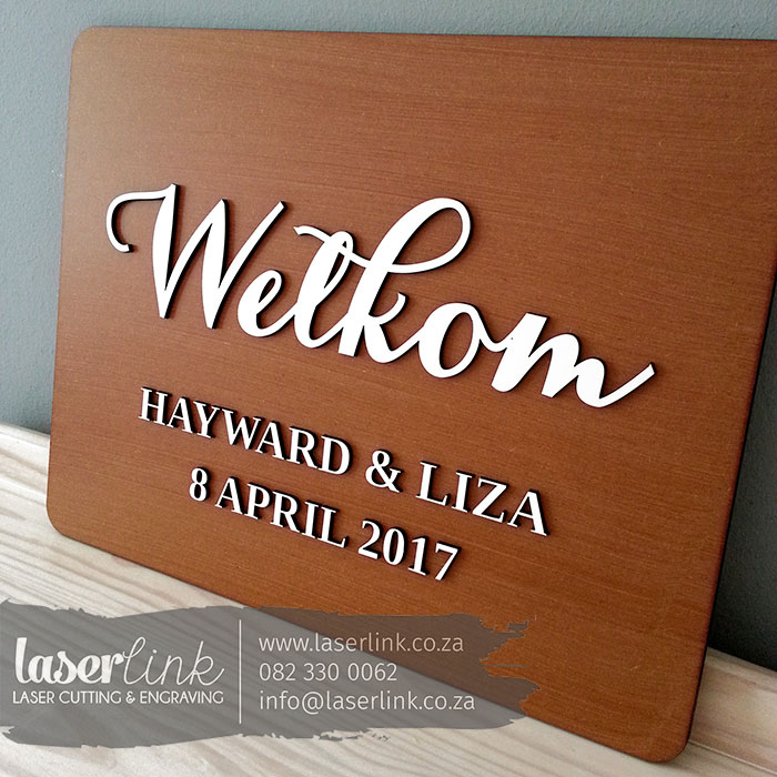 welcome sign boards