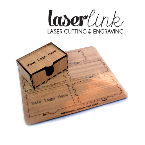 Branded wooden business card boxes laserlink branded wooden business card boxes reheart Choice Image