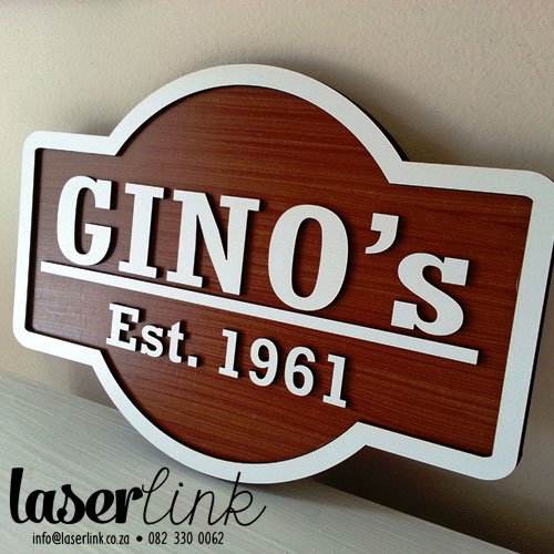 laser cut wooden signs