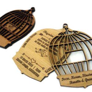 Birdcage Wedding Invitation 003