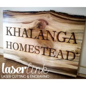 Solid wood engraved sign boards 001