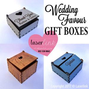 Wedding Favour Gift Boxe 009