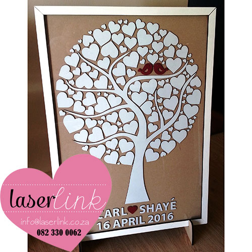 Tree Wedding Guest Book
