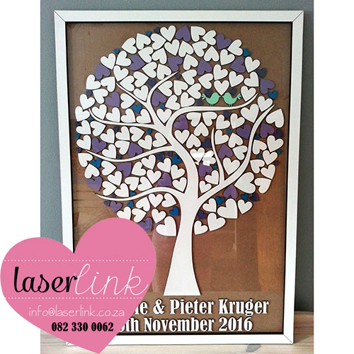 Tree Wedding Guest Book 012