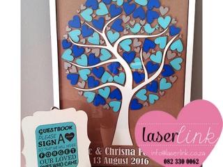 Tree Wedding Guest Book 013