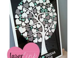 Tree Wedding Guest Book 015