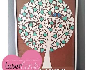 Tree Wedding Guest Book 016