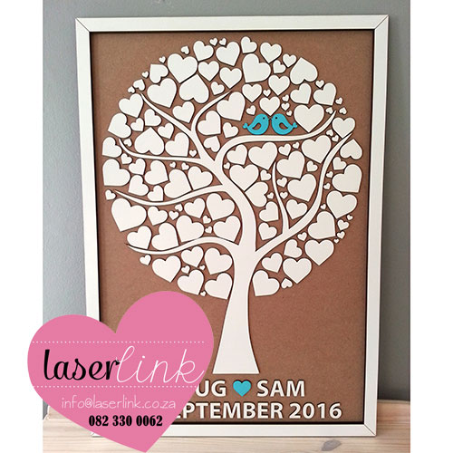 Tree Wedding Guest Book 017