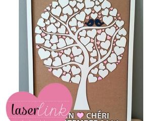 Tree Wedding Guest Book 018