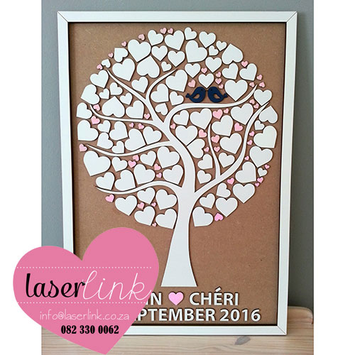Tree Wedding Guest Book 018
