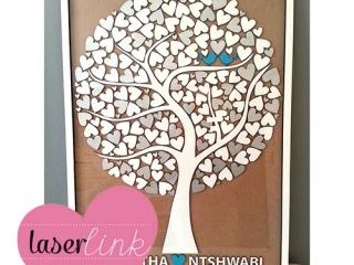 Tree Wedding Guest Book 019