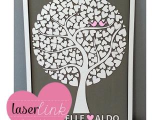 Tree Wedding Guest Book 020
