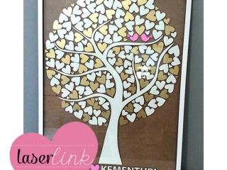 Tree Wedding Guest Book 021
