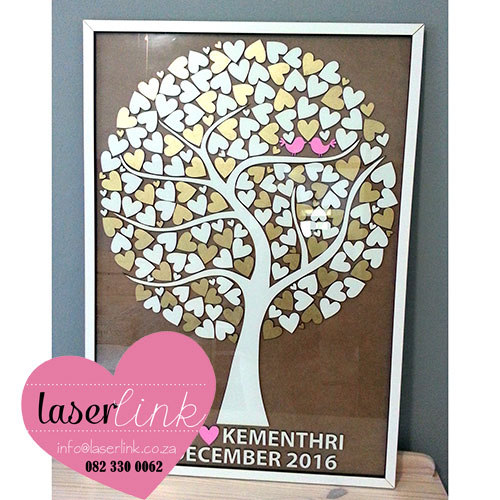 Tree Wedding Guest Book 021