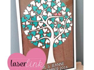 Tree Wedding Guest Book 022
