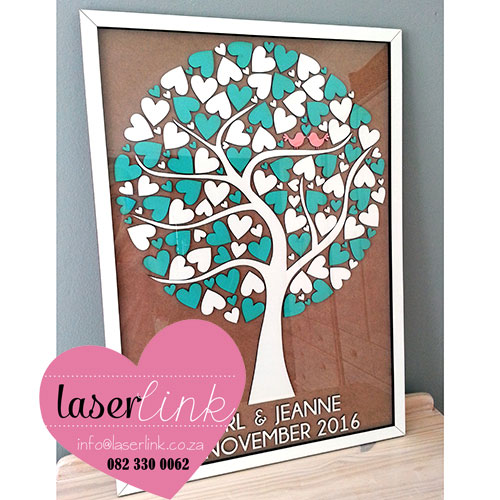 Tree Wedding Guest Book 022