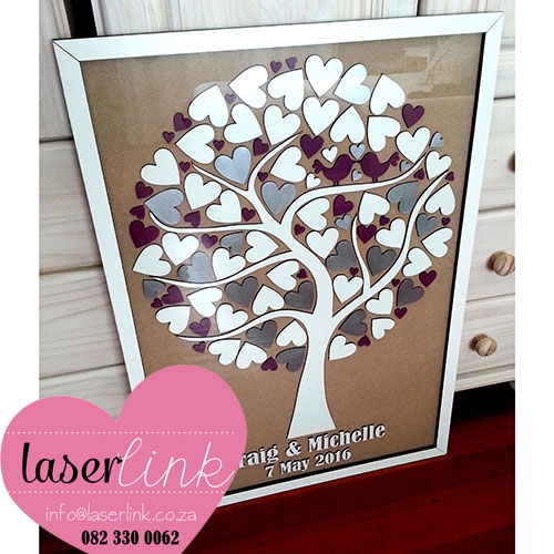 Tree Wedding Guest Book 003