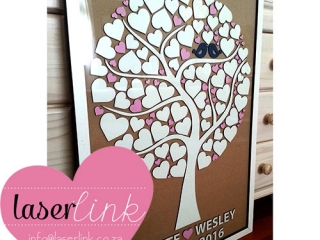 Tree Wedding Guest Book 004