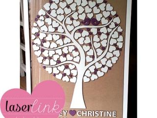 Tree Wedding Guest Book 005