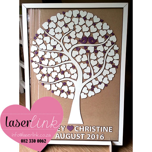 Tree Wedding Guest Book 005