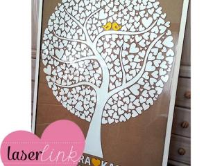 Tree Wedding Guest Book 006