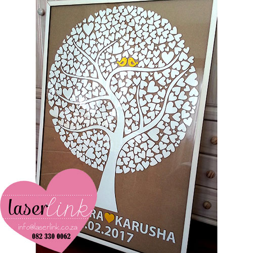 Tree Wedding Guest Book 006