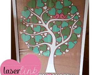Tree Wedding Guest Book 007