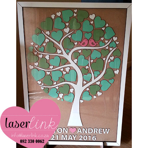 Tree Wedding Guest Book 007