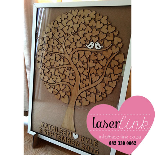 Tree Wedding Guest Book 008