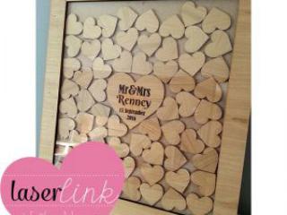 please sign a heart wedding guest board