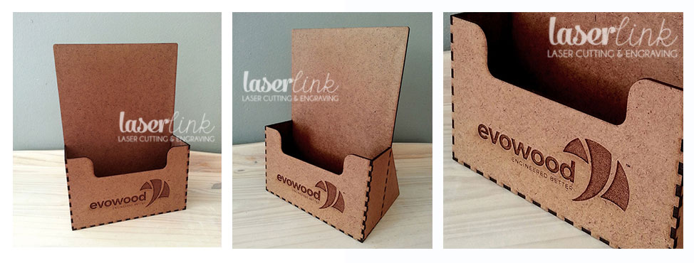 Wooden Branded Catalogue Stands