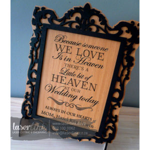 Wooden Wedding Sign Board 007