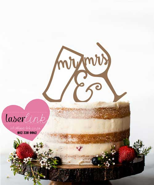 wine beer cake topper