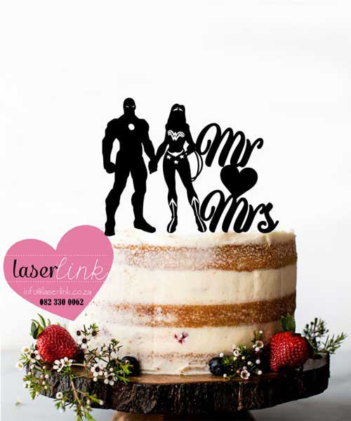 iron man cake toppers