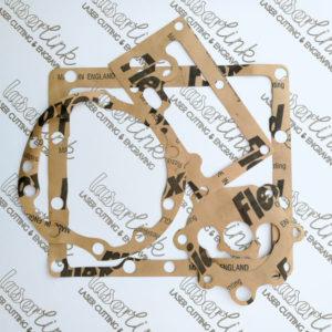 Laser cut flexoid gaskets