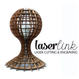laser cut orb lamp