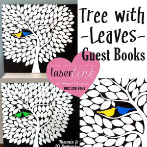 Leafy Tree Wedding Guest Book