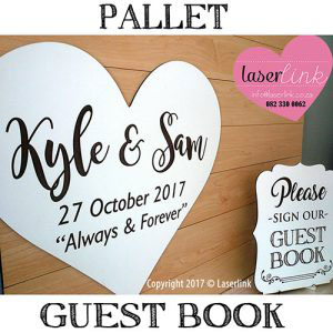 Pallet guest board