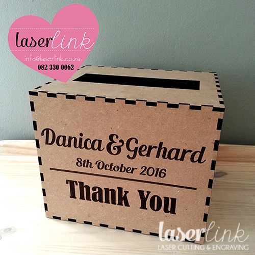 Personalized Wooden Envelope Boxes 001