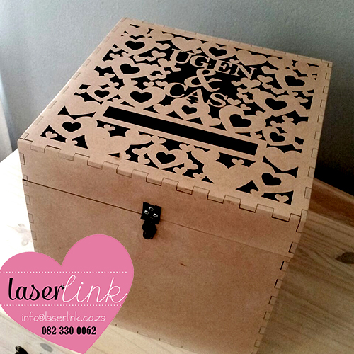 Personalized Wooden Envelope Boxes 003