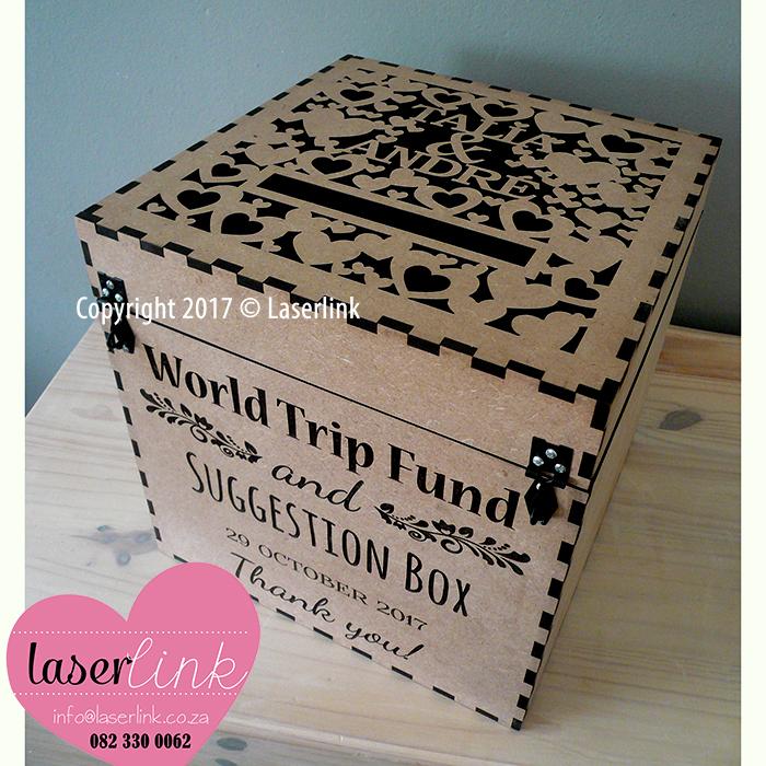 Personalized Wooden Envelope Boxes 005