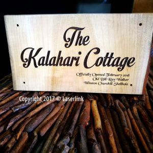 Solid wood engraved sign boards 002