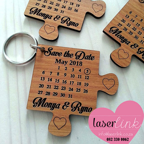 laser cut wooden key rings 002