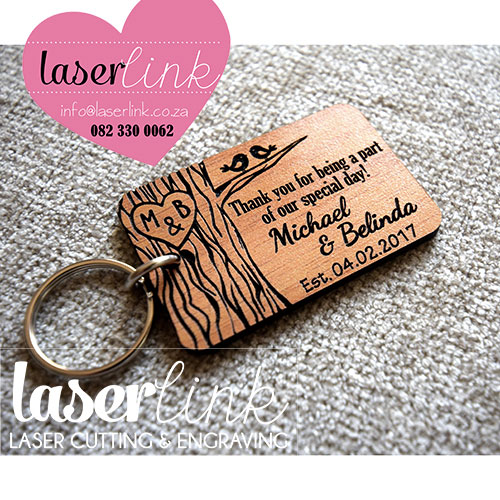 Laser Cut Wooden Key Rings - Laserlink ecb35e802