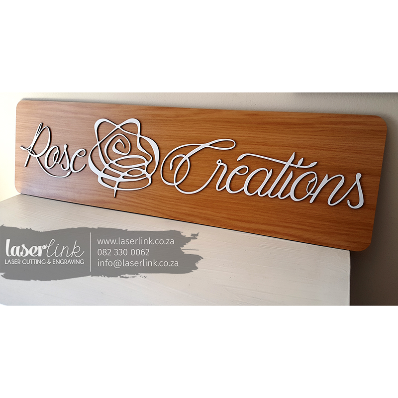 wooden sign board logo