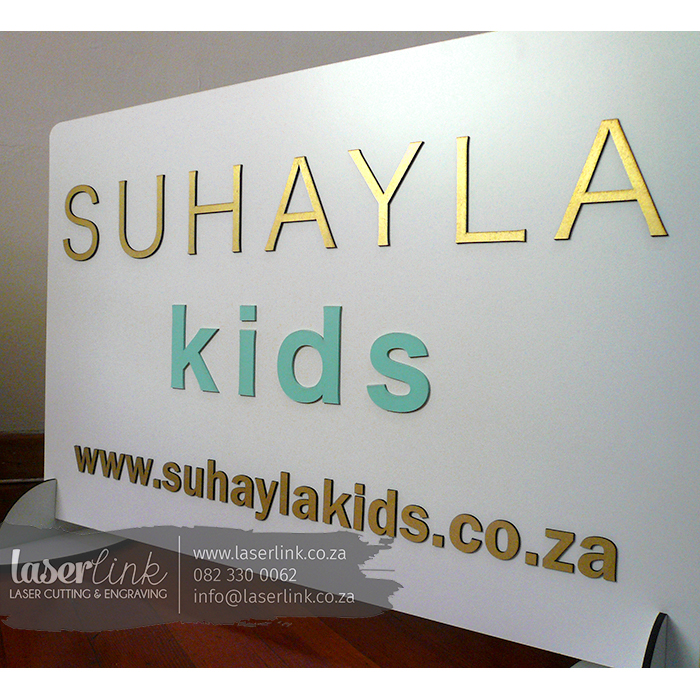 branded logo sign board