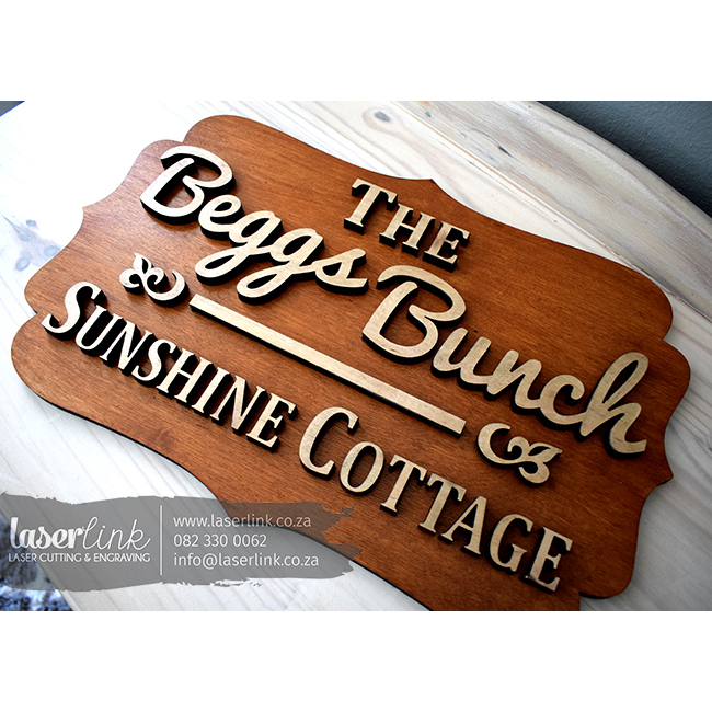 cottage sign boards